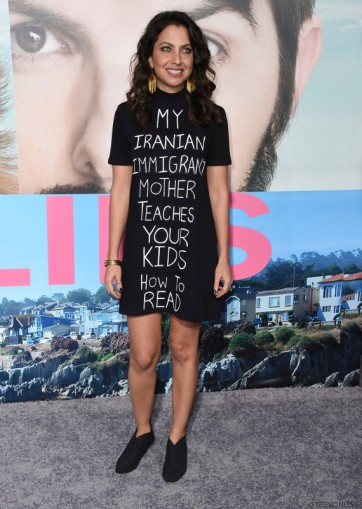 Actress Kathreen Khavari attend The Los Angeles Premiere of the New HBO Limited Series ''The Big Little Lies' in Hollywood, California.