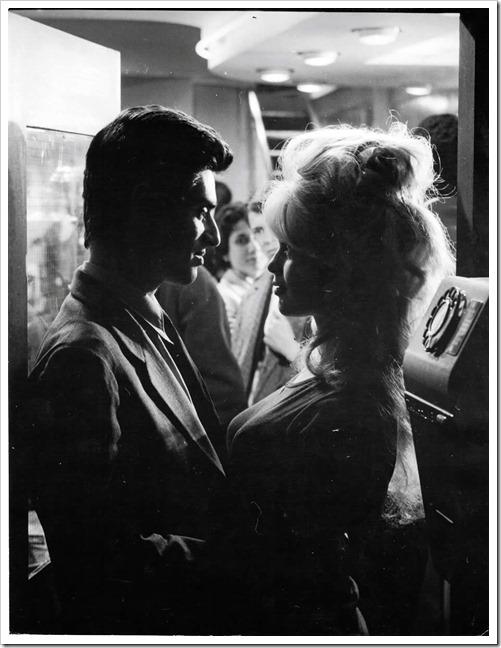 """Sami Frey and Brigitte Bardot """"La vérité"""" directed by Henri-George Clouzot, 1960"""